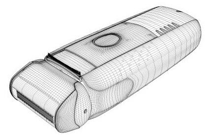 Produkt 3D Visualisierung BRAUN_WIRE