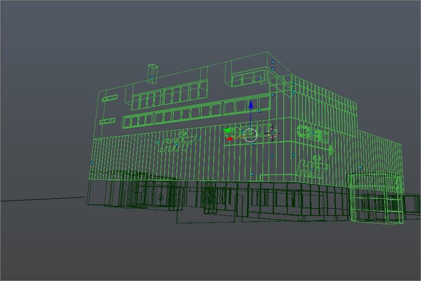 3D Modell Hit Markt