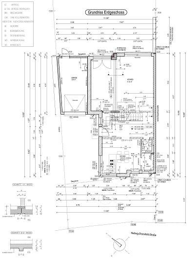 Werkplanung - Doppelhaus in Bonn