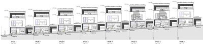 Bauantrag Reihenhäuser BU 13