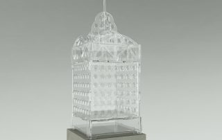 Produkt-Visualisierung Turm-Glaslook transparent