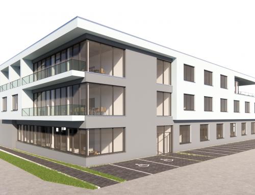 Bauantragspläne Bürogebäude