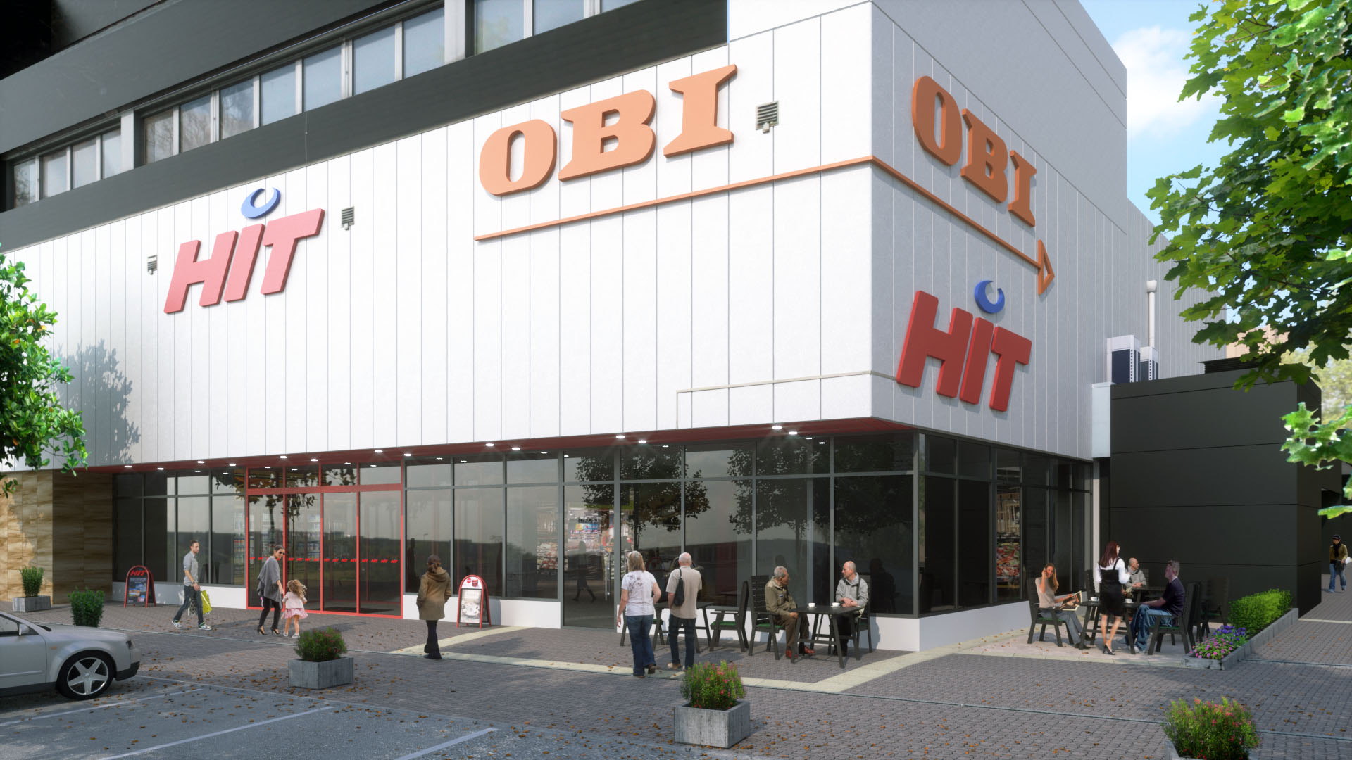 3D Visualisierung Hit-Markt