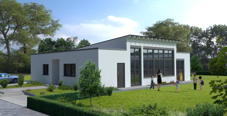 Architektur-Visualisierung Kindergarten Frankfurt