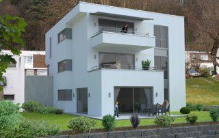 Architektur-Visualisierung Mehrfamilienwohnhaus