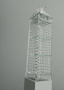 Produkt-Visualisierung Lichtkunstwerk