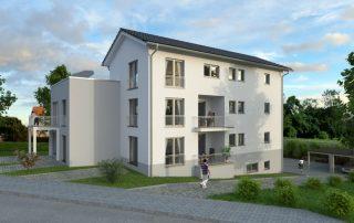 Architekturvisualisierung MFWH in Trier