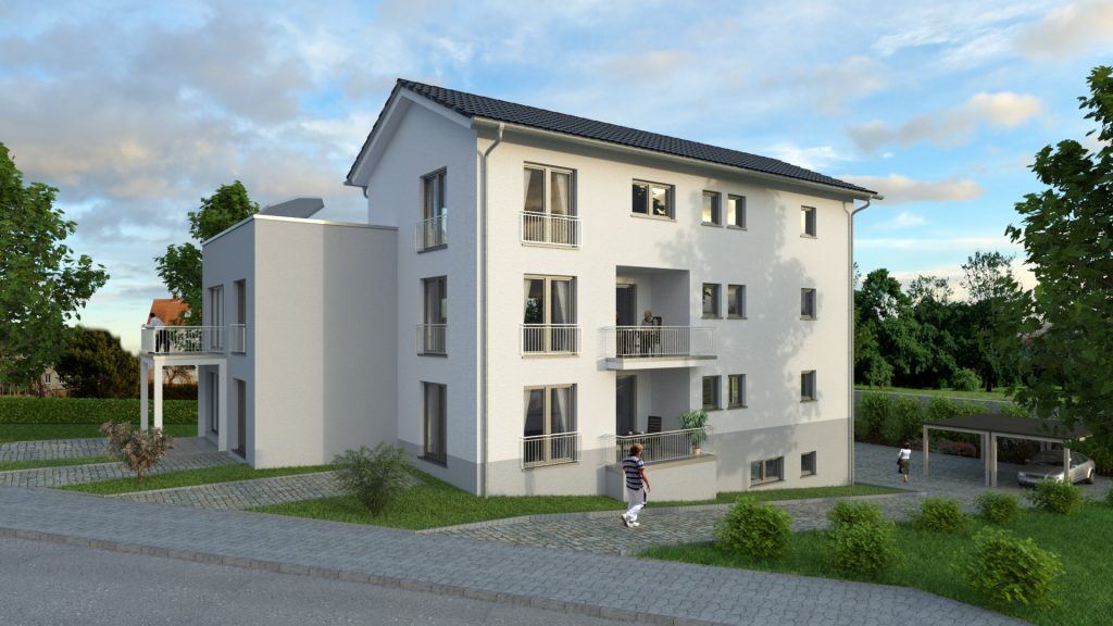 Architekturvisualisierung MFWH in Trier