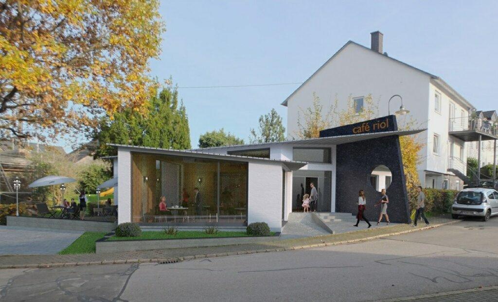 Architektur Visualisierung cafe-rio