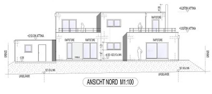 Bauantrag – Einfamilienwohnhaus in Merzkirchen