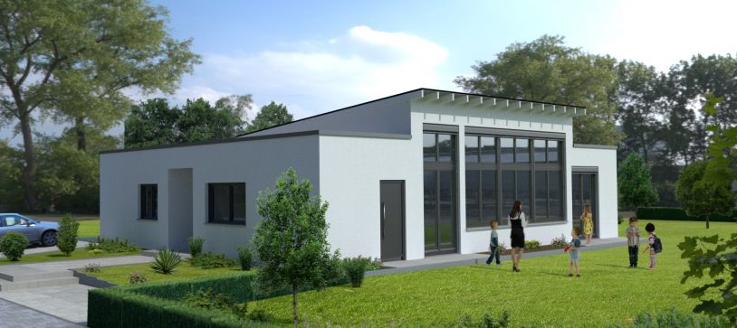 Neubau KIGA Frankfurt