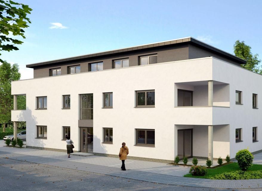 Münster-Strassenansicht