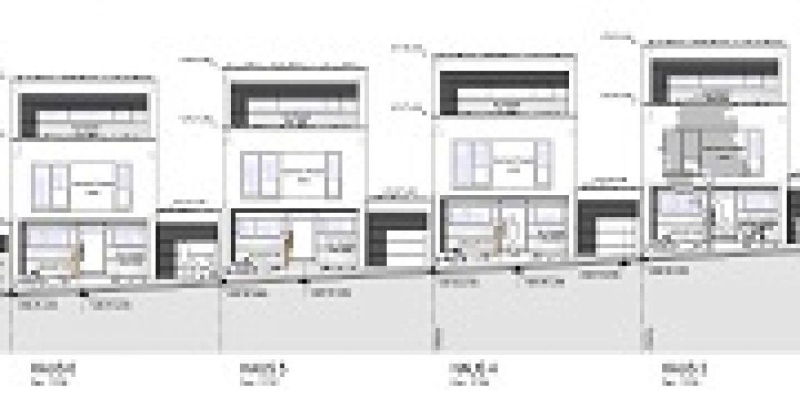 Bauanträge Reihenhäuser BU13