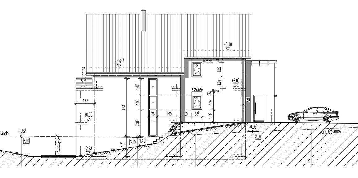 Bauantrag – Einfamilienwohnhaus in Bekond